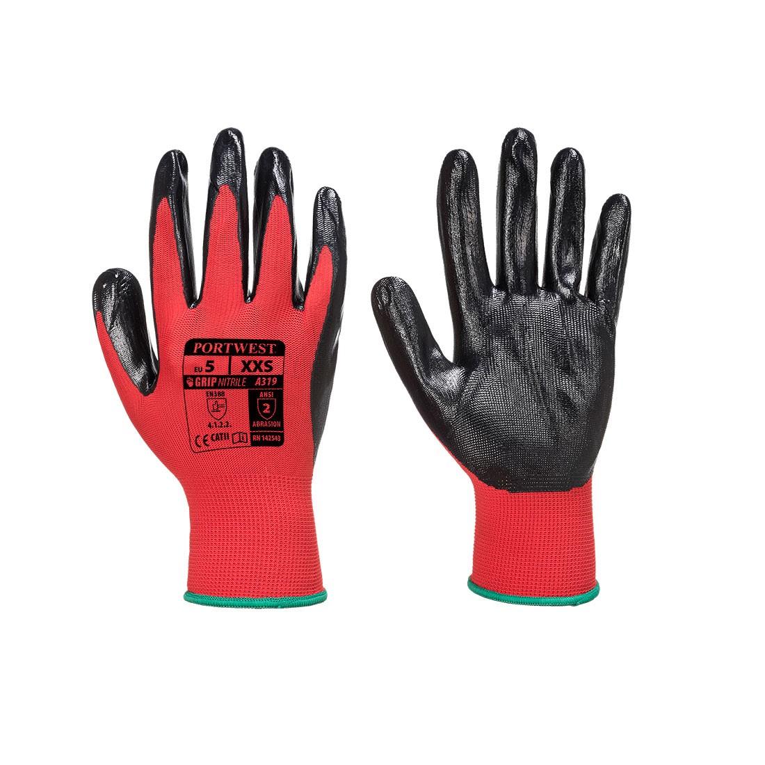 Flexo-Grip Nitril Handschoen (met merchandise verpakking)