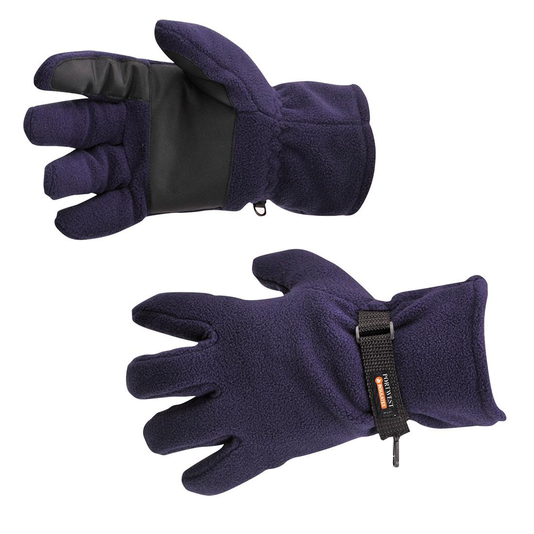 Fleece Handschoen Gevoerd Met Insulatex