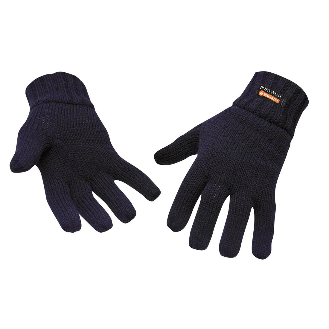Gebreide Handschoen Gevoerd met Insulatex