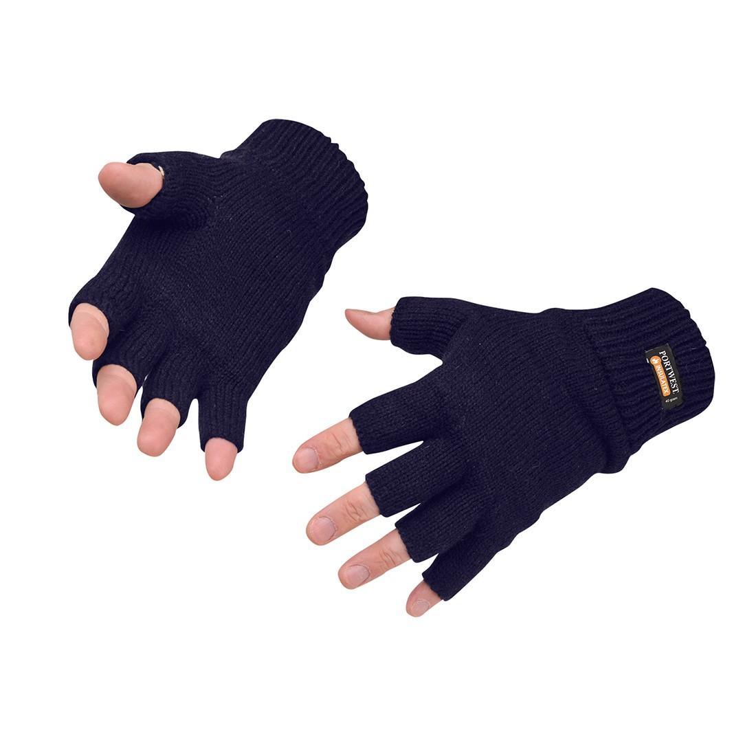 Vingerloze Gebreide Insulatex Handschoen