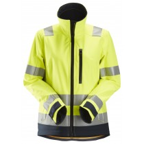 AllroundWork, High-Vis Softshell Damesjack Klasse 2/3