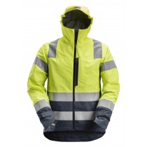 AllroundWork, High-Vis Waterproof Shell Jack Klasse 3