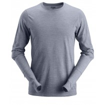 Wollen T-shirt met Lange Mouwen