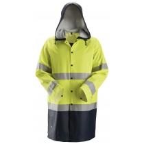 ProtecWork, Regenjack PU, High-Vis Klasse 3