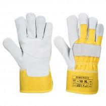 Premium Chrome Rigger Handschoen