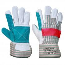 Klassieke Rigger handschoen met dubbel laags handpalm