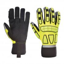 Veiligheids Impact Handschoen Ongevoerd