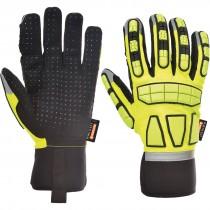 Veiligheids Impact Handschoen Gevoerd