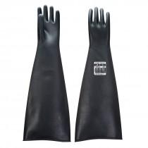 Zwaargewicht latex-rubberhandschoen 600 mm