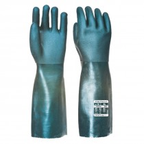Dubbel Gedompelde PVC-handschoen 45cm