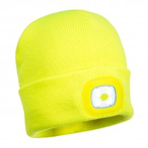 Junior Beanie met LED lamp