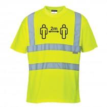 Social distance High Vis T-shirt