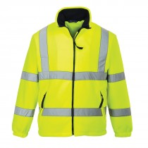 High Vis Fleece Mesh Gevoerd