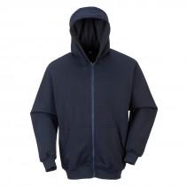 FR Sweatshirt met rits en capuchon