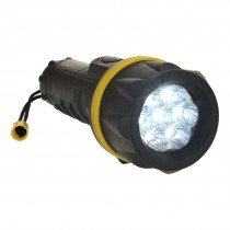 7 LED Rubber Zaklamp