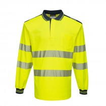 PW3 Hi-Vis Poloshirt Langemouw